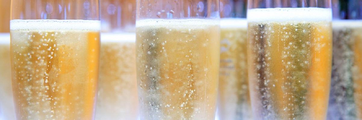 champagnebubbels